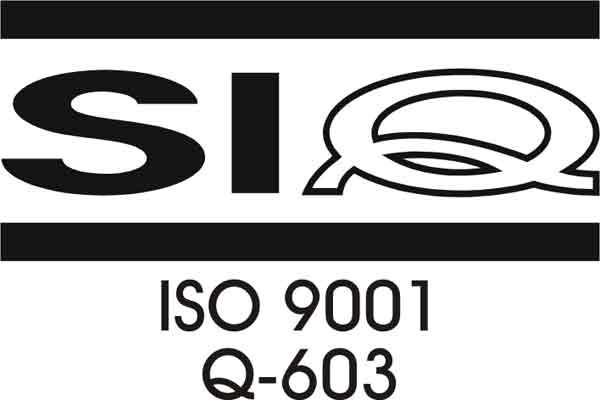 certifikat ISO 9001 Q 603