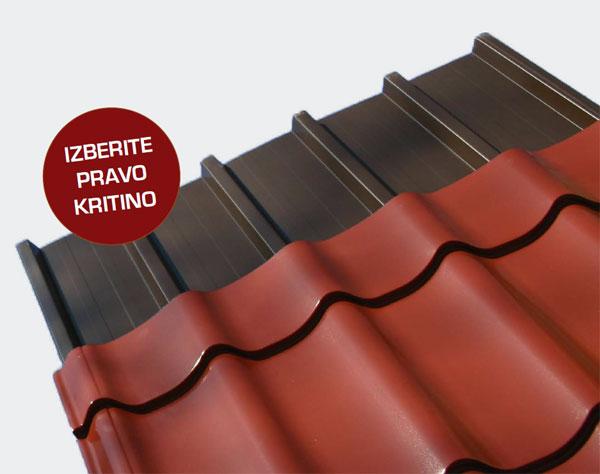 Kritine za streho